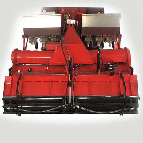 自平衡双轴旋耕起浆施肥水田平整复式作业机